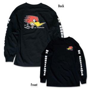XXLサイズ クレイスミス ロング スリーブ Tシャツ ブラック|mooneyes