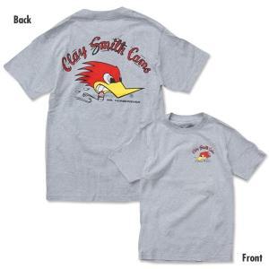 XXLサイズ Clay Smith (クレイ スミス) トラディショナル デザイン Tシャツ|mooneyes