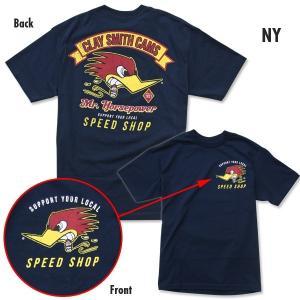 クレイスミス スピード ショップ Tシャツ|mooneyes