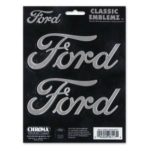 Ford (フォード) スクリプト CLASSIC EMBLEMZ デカール|mooneyes