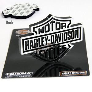 Harley-Davidson B & S ロゴ エンブレム|mooneyes