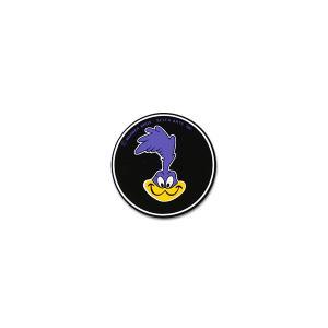 ロード ・ ランナー ラウンド ステッカー ブラック|mooneyes