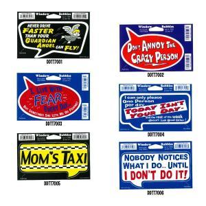 Window Bubbles Stickers -1|mooneyes