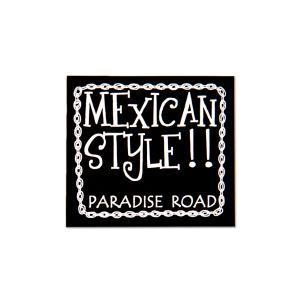 パラダイス ロード メキシカン スタイル ステッカー(L)|mooneyes