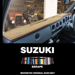 SUZUKI(スズキ)用 オリジナル サラぺ DASH MAT(ダッシュマット)|mooneyes