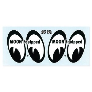MOON Equipped (ムーン イクイップド)   4 Eyes 水貼り転写デカール|mooneyes