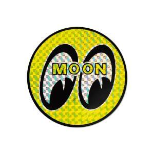 プリズムーン ステッカー 10cm|mooneyes