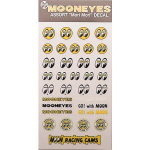 MOON アソート 転写シール セット|mooneyes