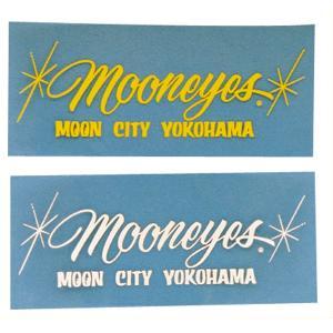 MOON City YOKOHAMA 抜きデカール|mooneyes