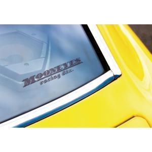 MOONEYES racing div. 抜きデカール|mooneyes