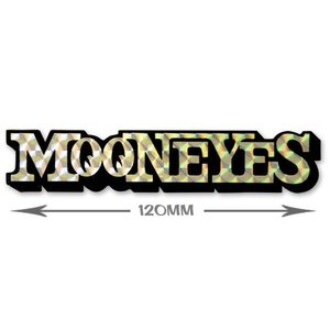 ムーンアイズ (MOONEYES) MOON プリズムステッカー Sサイズ|mooneyes
