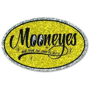 ムーンアイズ MOONEYES (ムーンアイズ) Oval ステッカー|mooneyes