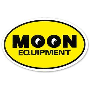 ムーンアイズ MOON Equipment Oval ステッカー|mooneyes