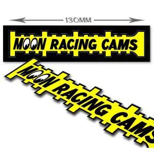 ムーンアイズ (MOONEYES) MOON Racing Cams ステッカー|mooneyes