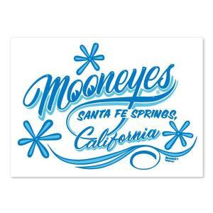 MOONEYES (ムーンアイズ) California Pinstripe Sticker ブルー|mooneyes