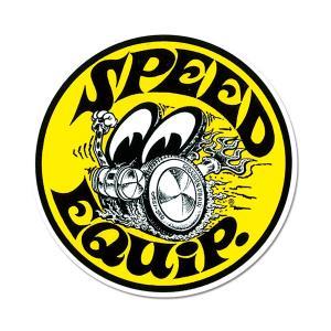 Speed Equip ラウンド ステッカー|mooneyes