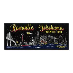Romantic Yokohama ステッカー|mooneyes