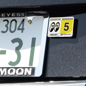 MOONEYES レジストレーション ステッカー|mooneyes