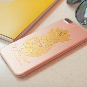 Pineapple ステッカー (抜きタイプ)|mooneyes