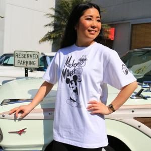 ミッキー Route7 Tシャツ|mooneyes
