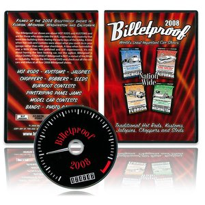 【30%OFF】 Billetproof World's Least Important Car Shows<DVD>|mooneyes