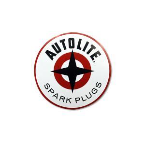 AUTOLITE SPARK ステッカー 6.5インチ|mooneyes