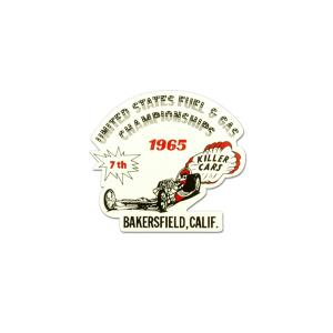 1965 US FUEL & GAS CHAMPIONSHIPS ステッカー|mooneyes