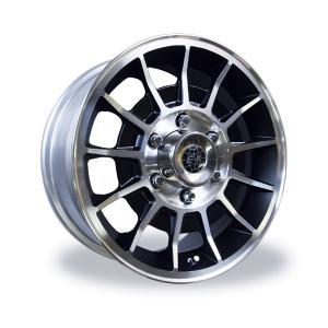 ENKEI / MOONEYES(エンケイ / ムーンアイズ) Black BAJA II Wheel 16×7J 6H|mooneyes