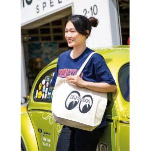 ムーンアイズ MOON キャンバス トートバッグ|mooneyes