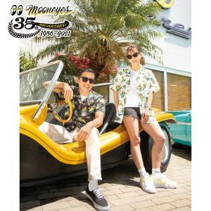 ムーンアイズ MOONEYES 35th Anniv. Limited アロハシャツ|mooneyes