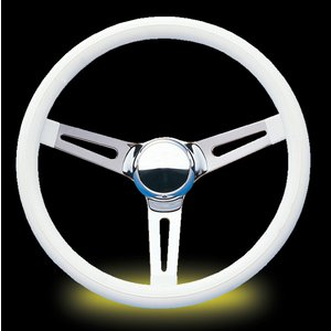 MOON Classic Custom Slotted Spoke 38cm ホワイト ビニール|mooneyes