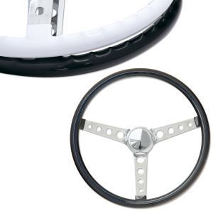ムーンアイズ オリジナル フィンガー グリップ ステアリング ホイール 38cm ブラック|mooneyes