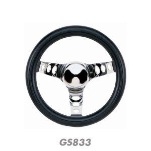Grant Classic Black Foam Steering Wheel 25cm|mooneyes