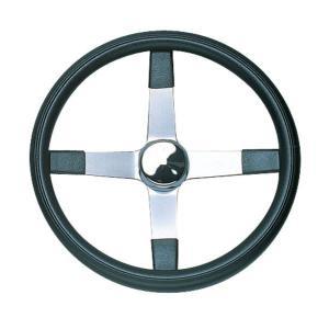Grant 4スポーク No - Hole Steering Wheel 42cm|mooneyes