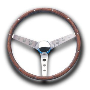 Grant Classic Ford Model Wood Steering Wheel 37cm|mooneyes