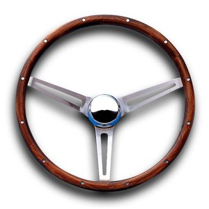 Grant Classic GM Model Wood Steering Wheel 38cm|mooneyes