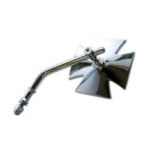 Iron Cross モーターサイクル ミラー|mooneyes