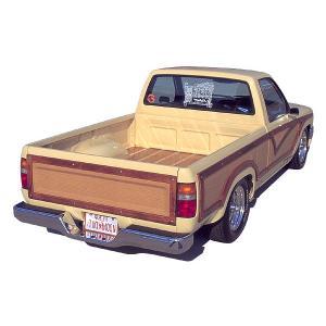 トヨタ ハイラックス ウッディー ピックアップ トラック - ボディーサイド ウッド トリム|mooneyes