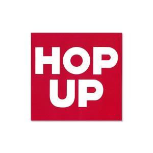 Hop Up magazine ロゴ ステッカー|mooneyes