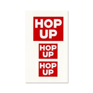 Hop Up magazine ロゴ デカール (水張り)|mooneyes