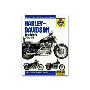 ヘインズ モーターサイクル リペア マニュアル 70-03 Sportsters|mooneyes