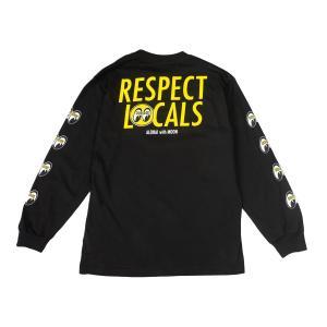 in4mation x MOONEYES (インフォメーション x ムーンアイズ) Respect Locals ロング スリーブ Tシャツ|mooneyes