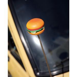 Cheese Burger アンテナ トッパー|mooneyes
