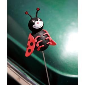Cute Ladybug アンテナ トッパー|mooneyes