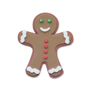 Gingerbread Man アンテナ トッパー|mooneyes