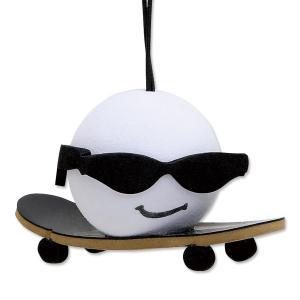 Skateboader Guy アンテナ トッパー|mooneyes