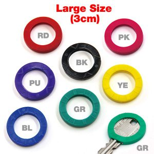 Lucky Line Key Identifiers - Large Size|mooneyes