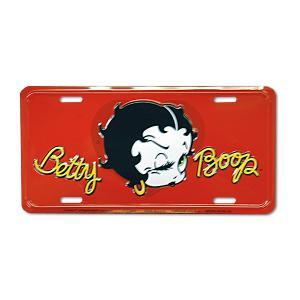 Betty Boop (ベティブープ) ライセンス プレート mooneyes
