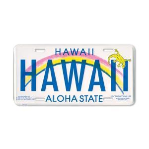 Hawaii ライセンス プレート HAWAII|mooneyes