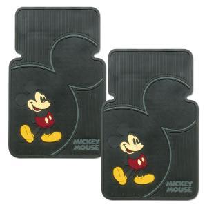 Vintage Mickey ラバー フロアーマット|mooneyes